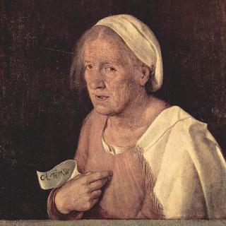 늙은 여인의 초상