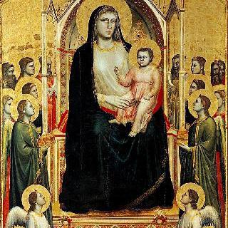 옥좌의 마리아