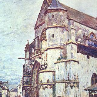 모레의 교회, 비 온 뒤