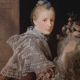 화가의 부인, 마가렛 린지의 초상