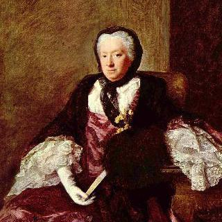 메리 앳킨스 (마틴 부인)의 초상