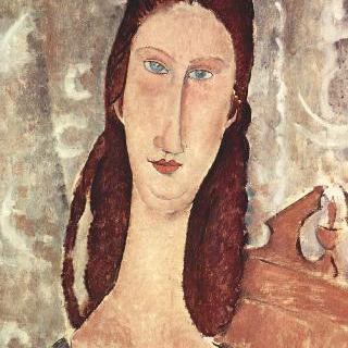 잔 에뷔테른의 초상