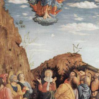 만토바 대공의 궁전 예배당의 제단 후면 장식화 : 그리스도의 승천