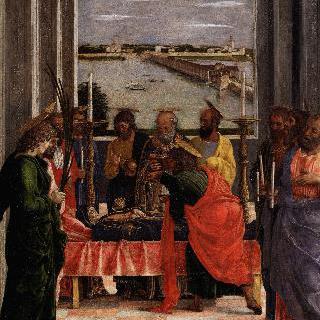 마리아의 죽음 (전체 그림의 일부 조각으로 추정)