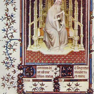 장 드 베리 공작의 시편 : 다윗 왕
