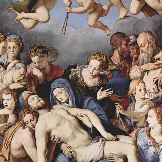 엘레오노라 예배당의 제단화 : 그리스도를 십자가에서 내림