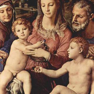 성 안나, 세례 요한과 함께 있는 성 가족