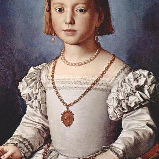 코시모 1세의 딸 비아 데 메디치의 초상