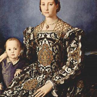 톨레도의 엘레오노라와 그녀의 아들 조반니의 초상