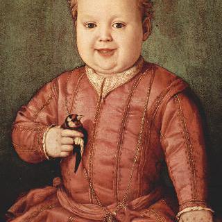 조반니 데 메디치의 어린아이 시절 초상