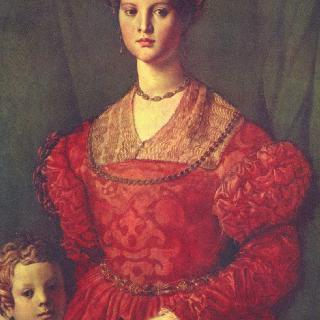 아들과 함께 있는 젊은 여인의 초상