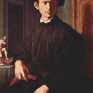 류트를 든 젊은 남자의 초상