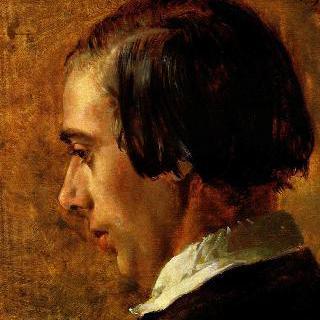 멘첼의 형제 리하르트의 초상