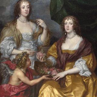 레이디 엘리자베스 심벌비와 그녀의 자매