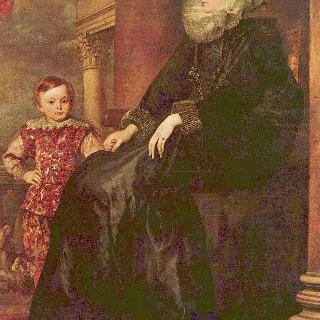 파올리나 아도르노의 초상
