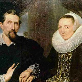 프란스 스니더르스와 부인의 초상