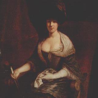 마리아 주잔네 딩글링거 (결혼전 성은 구터만)의 초상