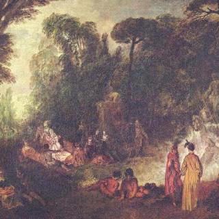 정원에서의 파티