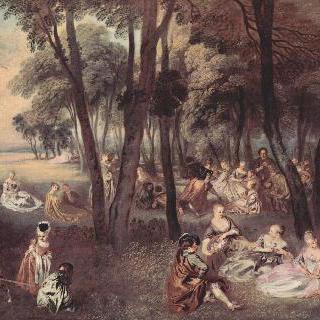 야외에서의 즐거운 모임