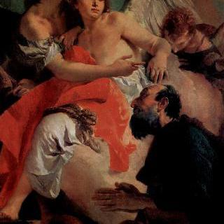 아브라함과 천사들, 하갈과 이스마엘에 대응하는 짝