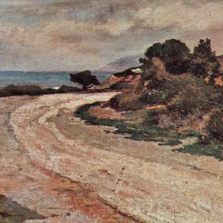바닷가 도로