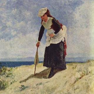 해변의 소녀
