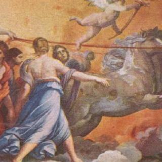 아우로라 (앞서가는 아우로라를 자신의 마차로 따라가는 아폴로)