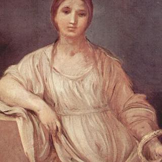관 (冠)을 든 소녀의 초상