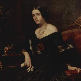 검은 옷을 입은 여인의 초상