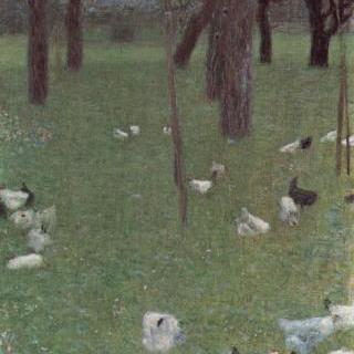 닭들이 있는 장크트 아가타의 정원
