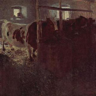 외양간의 소들