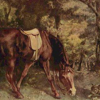 숲 속의 말