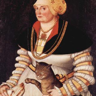 클레오페아 홀츠할프의 초상