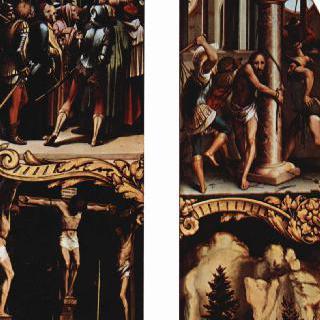 그리스도 수난의 제단화, 오른쪽 바깥쪽 패널