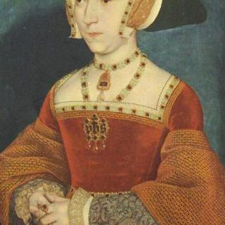 잉글랜드 왕비 제인 시무어의 초상