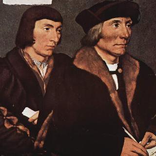 토머스 갓샐브와 그의 아들 존의 초상