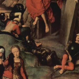 뤼벡 대성당에 있던 세 폭 제단화, 오른쪽 날개 : 부활