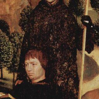 말라발레의 성 굴리엘모와 함께 기도하는 기부자
