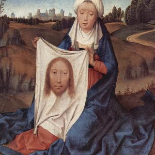 세례 요한과 성 베로니카의 두폭화, 오른쪽 날개 : 성 베로니카