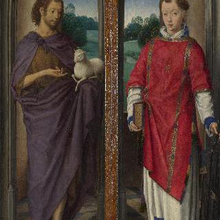 세례 요한과 성 라우렌티우스