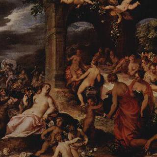 신들의 성찬 (펠레우스와 테티스의 결혼식)