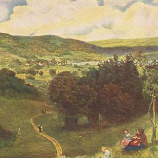 탁 트인 계곡