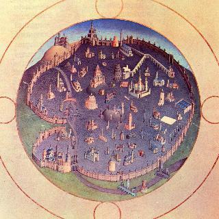 베리 공작의 호화로운 시도서 (時禱書) : 로마시 지도