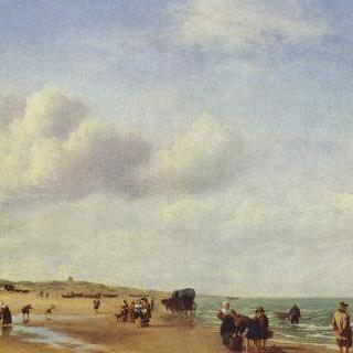 스헤베닝언의 해변