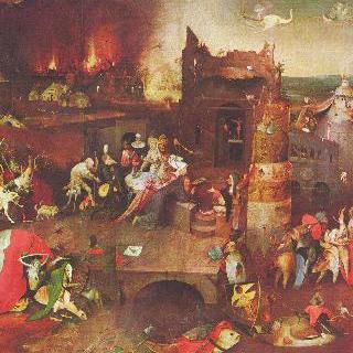 안토니우스 제단화 : 성 안토니우스의 유혹