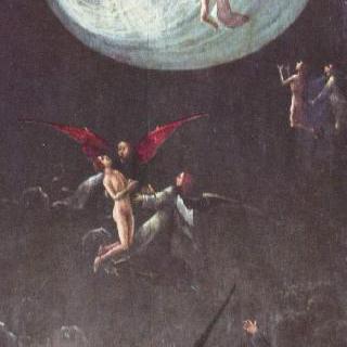 하늘로 올라가는 축복받은 자들