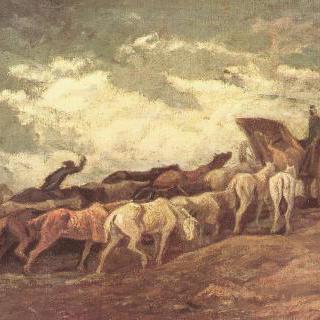 말들의 대열