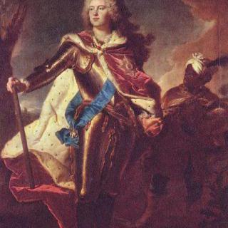 작센 선제후 프리드리히 아우구스트 2세의 공자 시절 초상