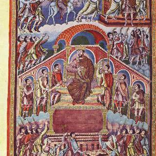 대머리왕 카롤루스 (카롤루스 2세)의 성경 : 솔로몬 왕