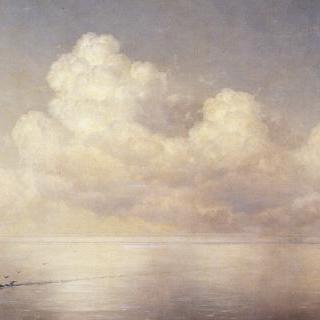 바다 위에 뜬 구름, 무풍